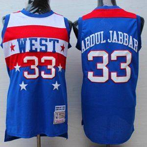 1980 Los Angeles Lakers Kareem Abdul Jabbar jersey